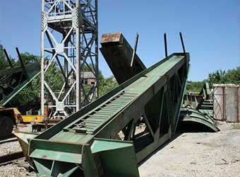 Демонтаж башенных кранов