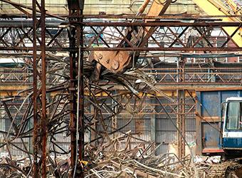 Демонтаж заводов