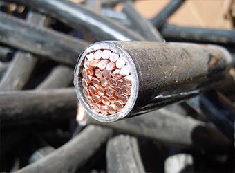 Прием медного кабеля