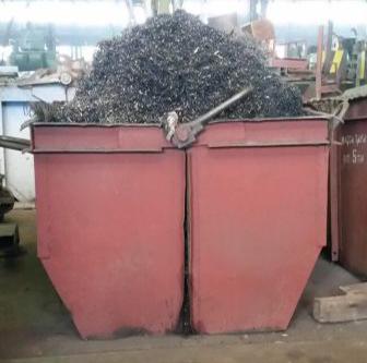 Установка контейнеров под металлолом