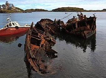 Утилизация затопленных судов