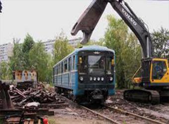 Утилизация железнодорожных вагонов и локомотивов