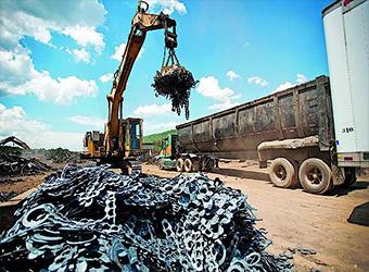 Вывоз лома черного металла в Москве по выгодным ценам